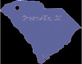 Greenville, SC Map