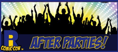 RI Comic Con After Parties