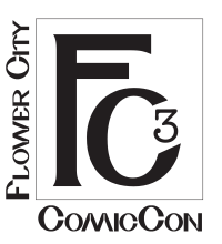 Flower city Comic con logo