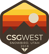 CSG West 2018 Annual Meeting Logo