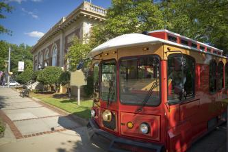Trolley at CVB