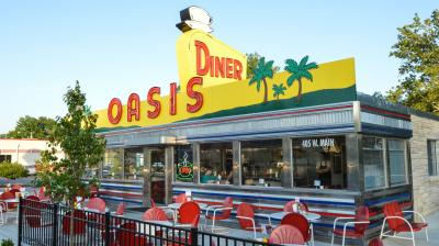 Oasis Diner in Plainfield, IN