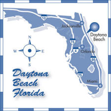 Florida Map Directions.Daytona Beach Fl Meetings Driving Directions Daytona Beach