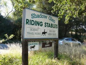 Shadow Glen Riding Stables is located just a short drive from downtown Sacramento.