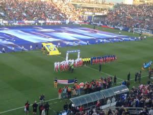 Soccer Field Ceremony