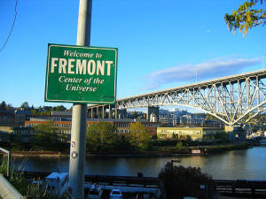 """Visiting Fremont, """"The Center of the Universe"""""""