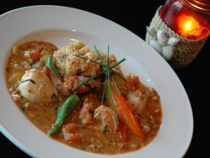 22 North seafood dish