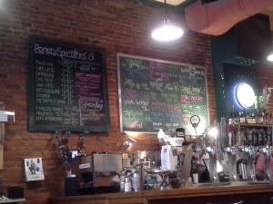 bar at Dash In