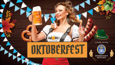Flyer for Oktoberfest from the German American Society of Hollywood Florida