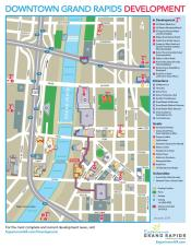 Gvsu Grand Rapids Campus Map.Grand Rapids Development New Hotels Expansion Projects Business