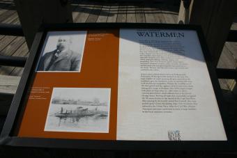 Watermen Marker on Orange Street