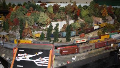 You will be floored by all the amazing model trains.