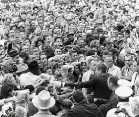 JFK Crowd