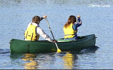 Boating at Lake