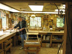 Chair shop interior
