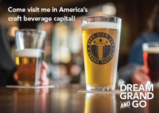 Come visit me in America's craft beverage capital! Dream Grand and Go