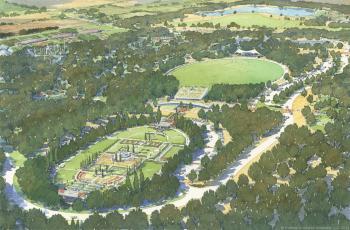 Artist's rendering of W.S. Gibbs Memorial Park