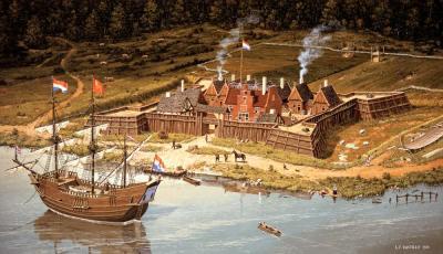 Fort Orange exhibit at New York State Museum