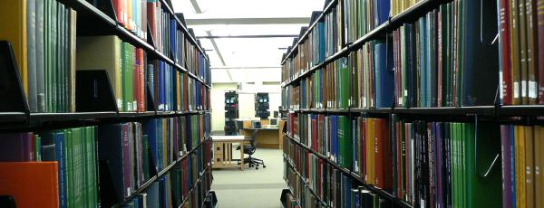Genealogy Library Interior