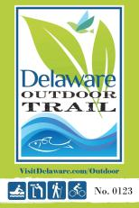 Delaware Outdoor Trail sign