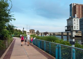 Riverwalk on the Wilmington Riverfront