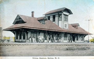 Selma-Railroad-Station