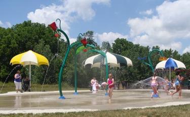 Washington Township Park Splash Pad
