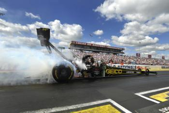 Drag racing at U.S. Nationals is a highlight of every racing season.