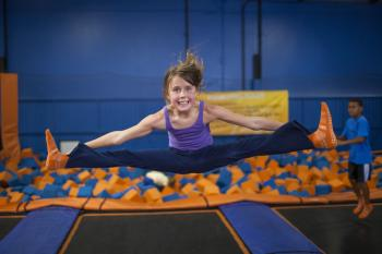Can you imagine what a glow-in-the-dark version of Sky Zone will be like? Check it out on Friday.