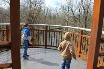 These observation decks are perfect for fishing or watching the scenery.