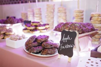 Donut at Wedding