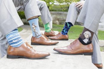 Groomsmen's socks | Erika Brown Photography