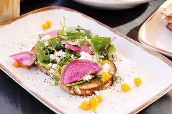 sessions irvine artisanal avo toast