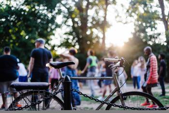 Summer bike photo