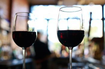Wine glasses - Photo Courtesy The Black Sheep