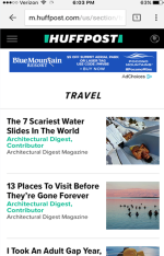 2017 Summer Marketing Campaign - Online - Huffingtonpost.com - Blue Mountain Resort