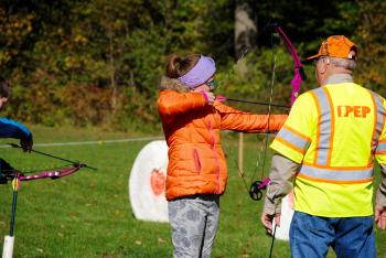 Try your hand at archery during the Fall Colors Festival at McCloud Nature Park.