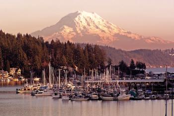 Gig Harbor and Mount Rainier