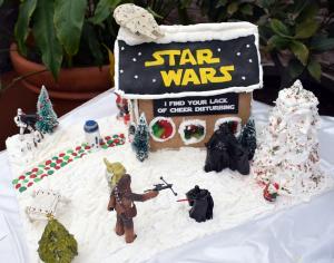 Star War's Gingerbread display at George Eastman Museum