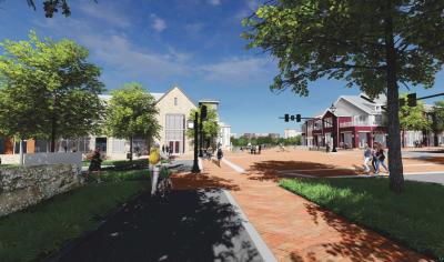 Bridge Street District West Plaza Proposal