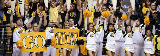 WSU Cheerleaders