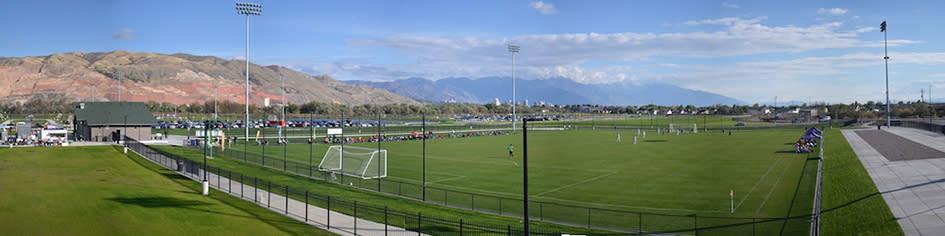 Salt Lake City Regional Athletic Complex Panorama - Sean Buckley