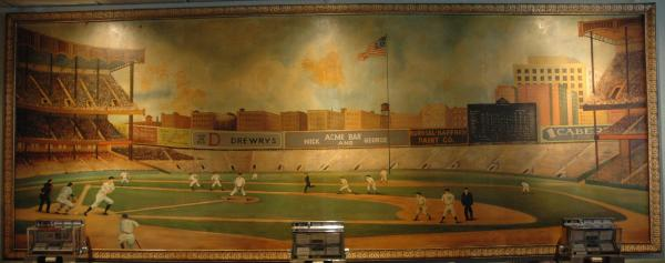 Acme Bar and Grill - Mural, Old Painting - Fort Wayne, IN