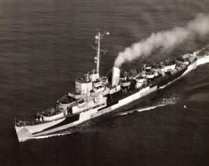 USS SLATER 1945