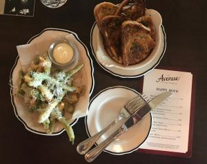 The Avenue Appetizers