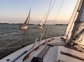 Sailing at FortWhyte Alive