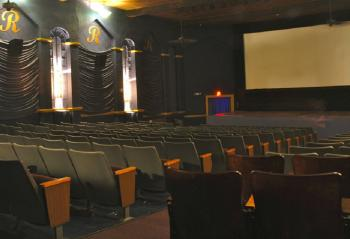 Inside the historic Royal Theater