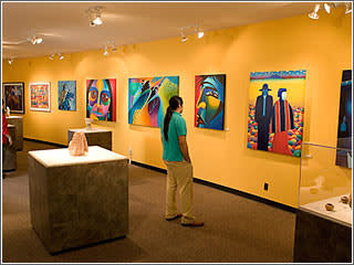 New Mexican art gallery at the Indian Pueblo Cultural Center by Visit Albuquerque