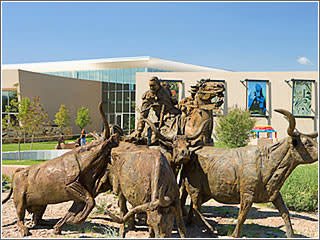 Sculpture at the Albuquerque Museum by Visit Albuquerque - New Mexican art