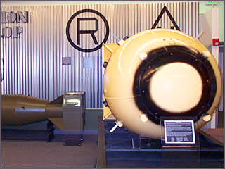Fat boy bomb at the national atomic museum